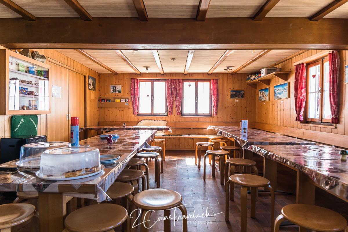 Restaurant der Tierberglihütte