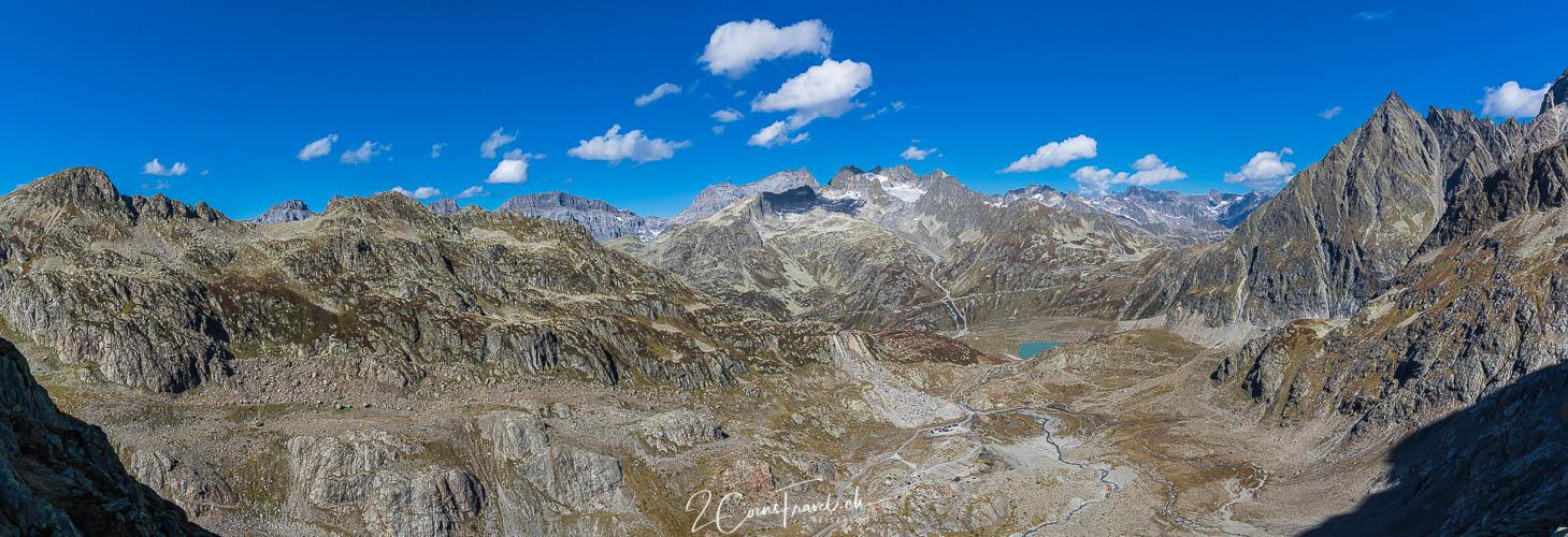 Panorama vom Sustenpass