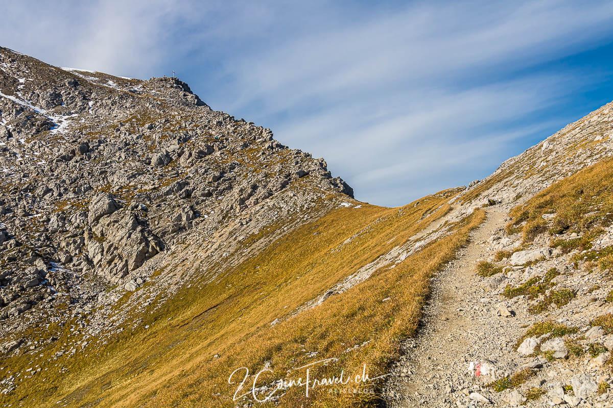 Wanderweg zum Augstenberg