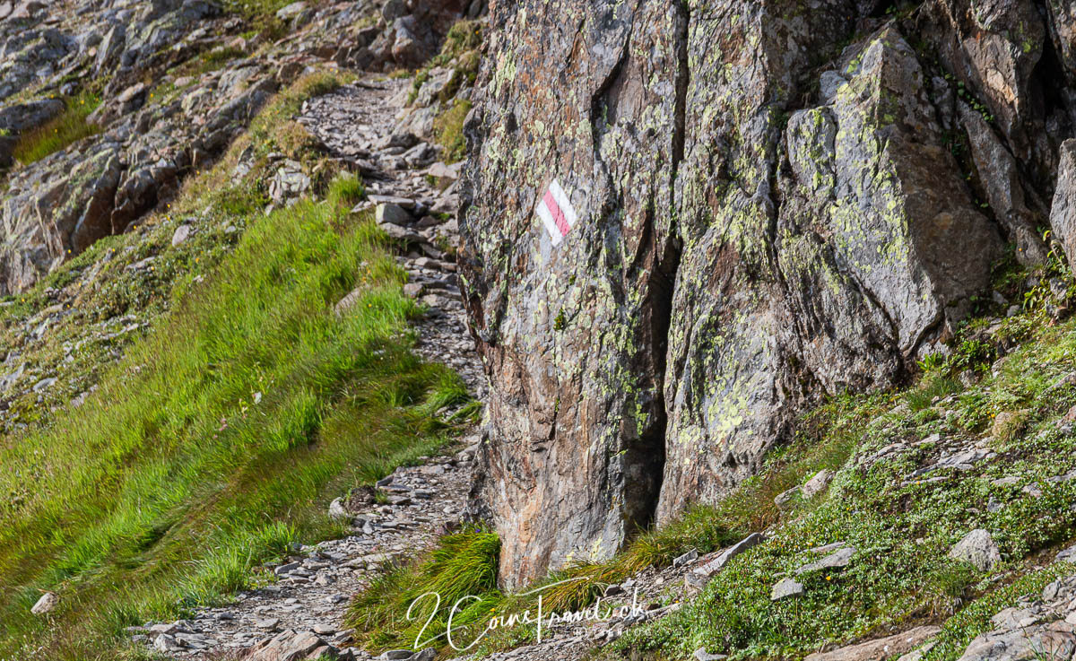 Wanderweg zum Schwarzhorn