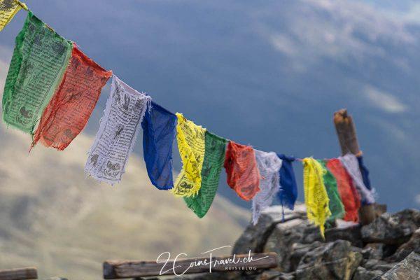Tibetische Fahnen Schwarzhorn