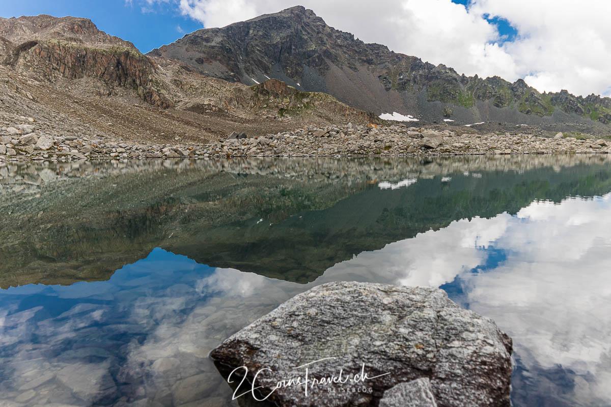 Bergsee am Radönt Gletscher