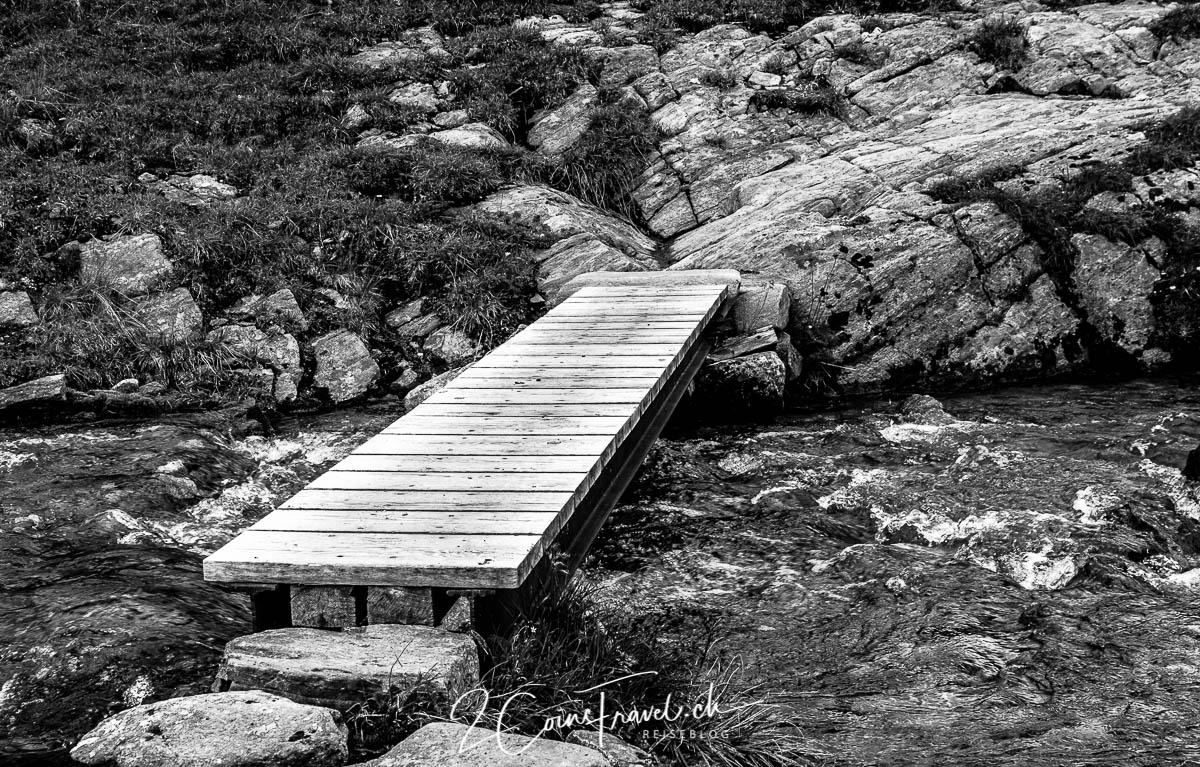 Brücke am Wanderweg