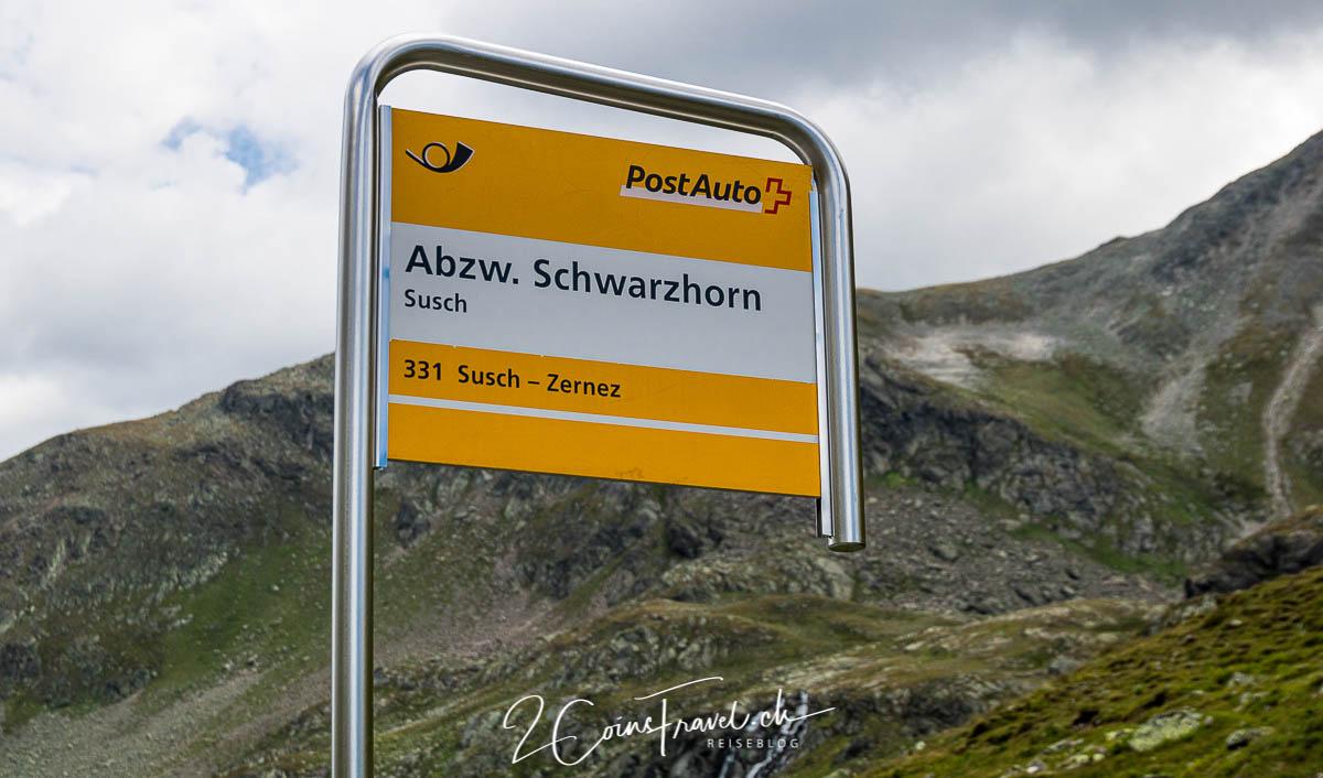 Bushaltestelle Schwarzhorn