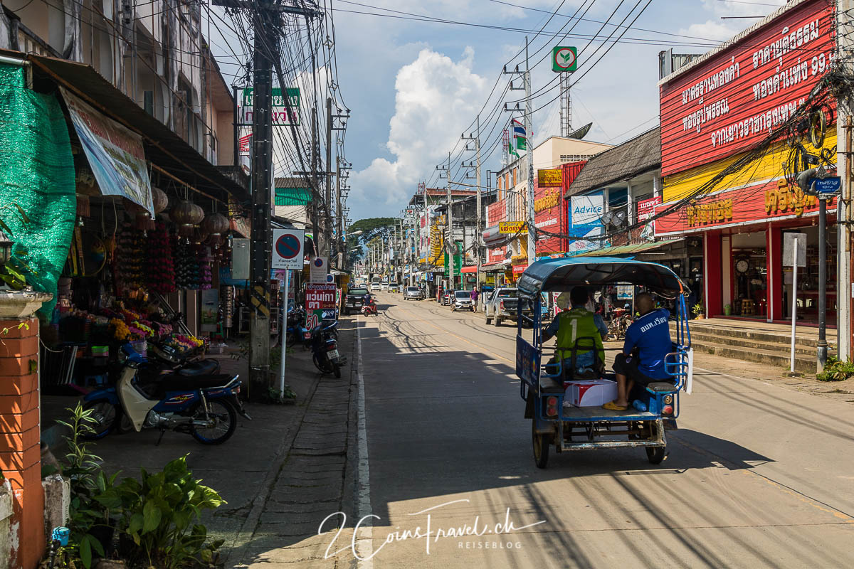 Hauptstrasse von Chiang Khong