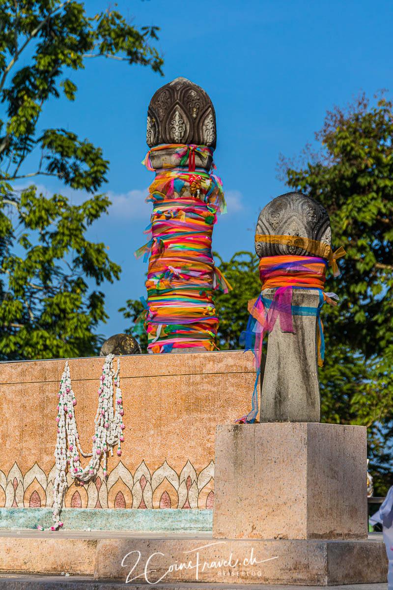 Stadtsäulen von Chiang Rai