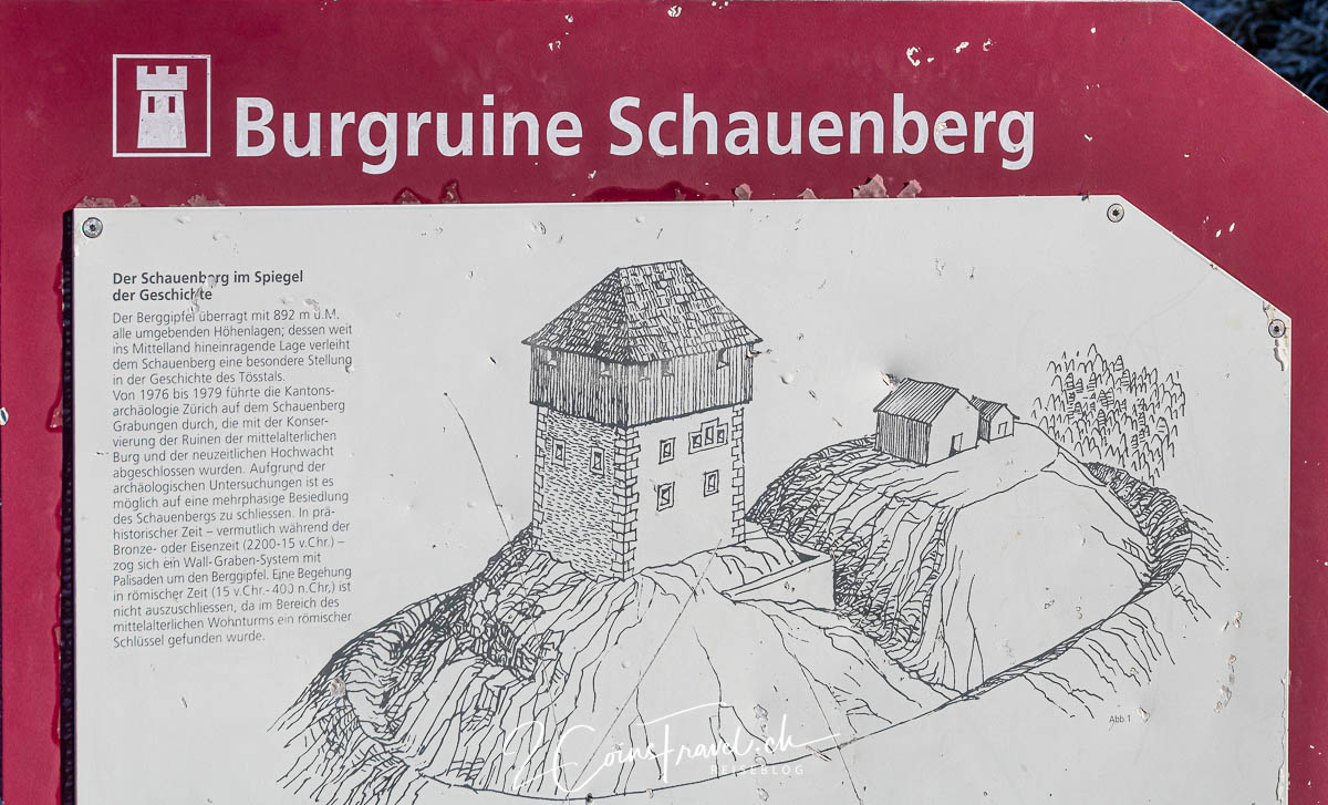 Schautafel Schauenberg