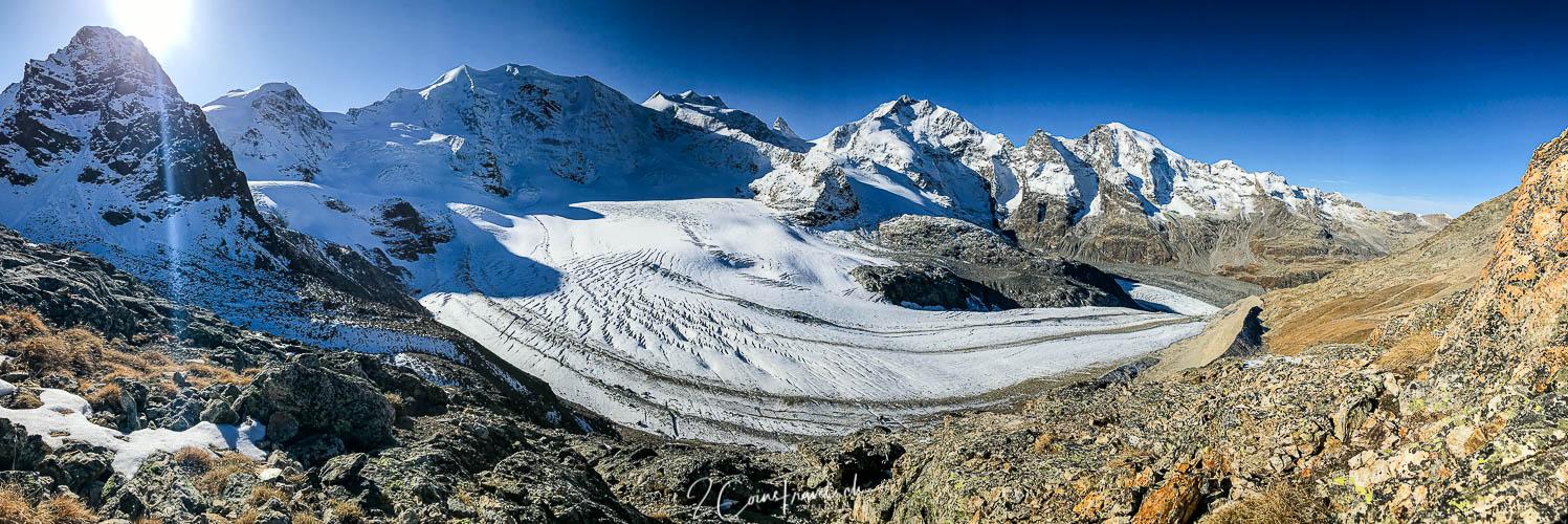 Panorama Persgletscher