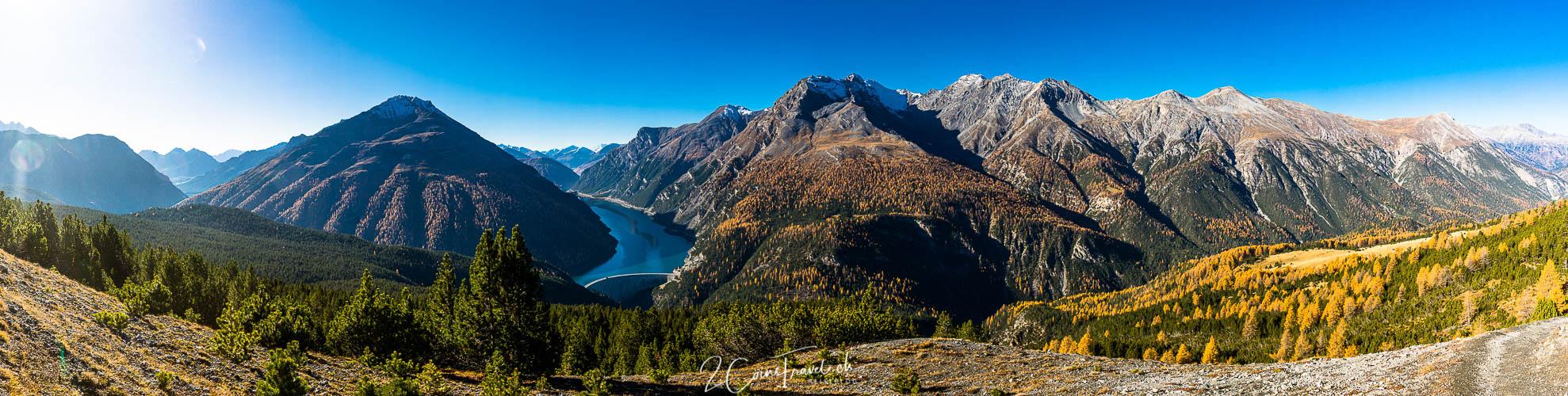 Panorama Lago di Livigno