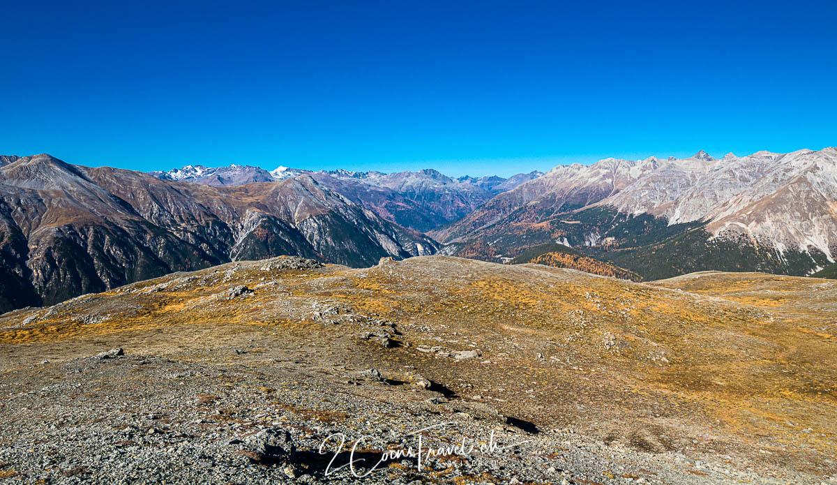 Gipfelplateau Munt la Schera