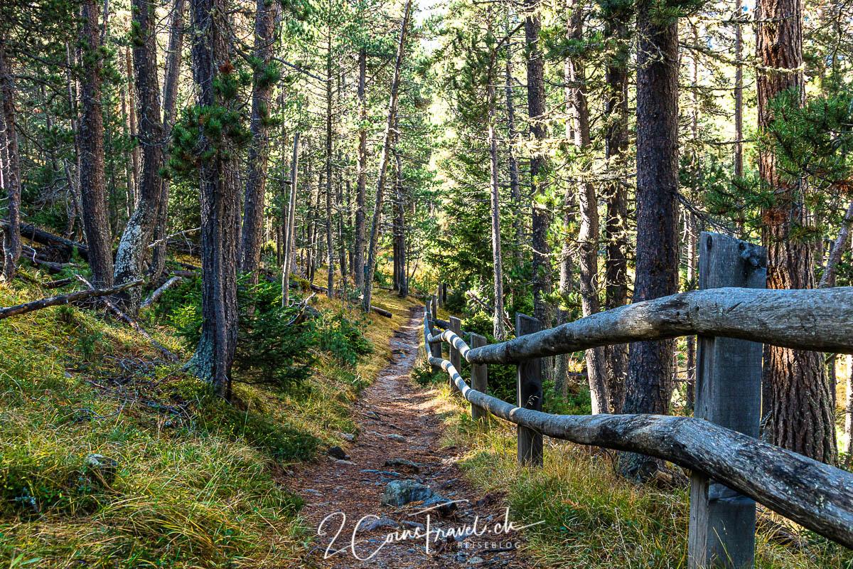 Wanderweg zum Munt la Schera