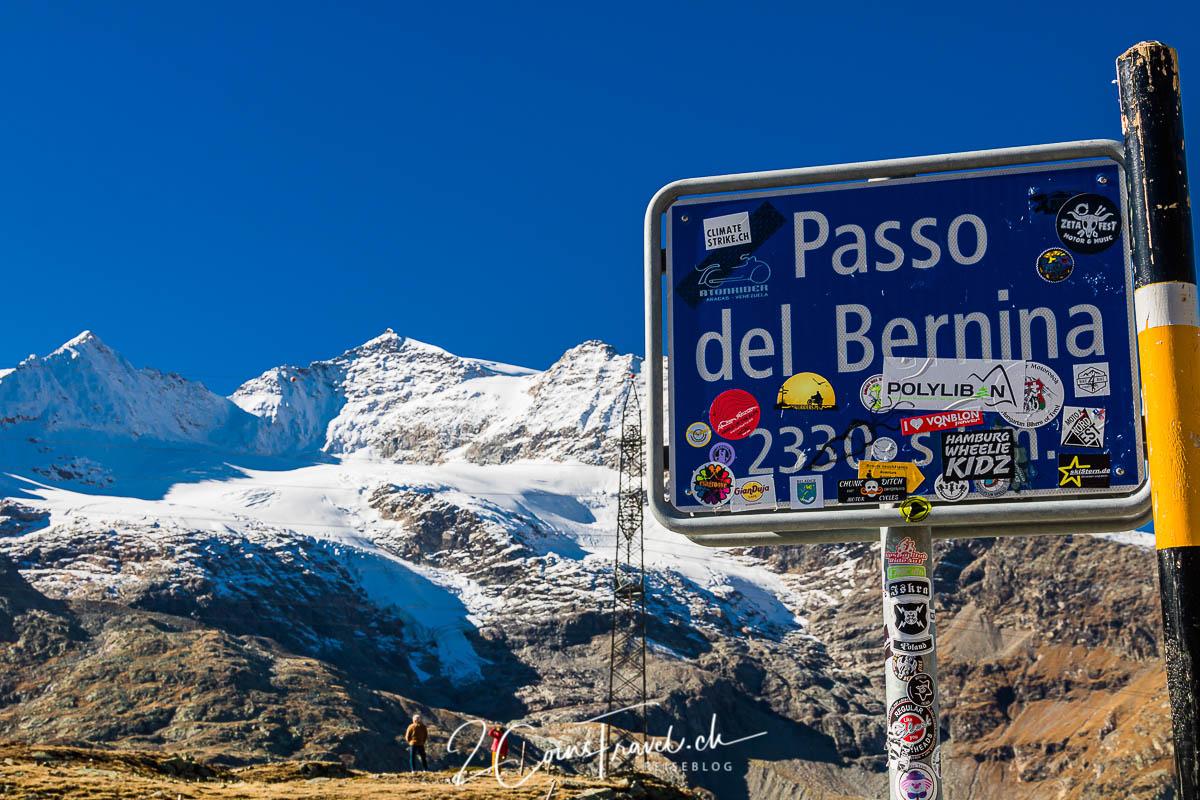 Bernina Passhöhe