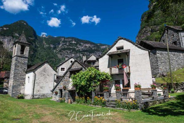Dorf im Bavonatal