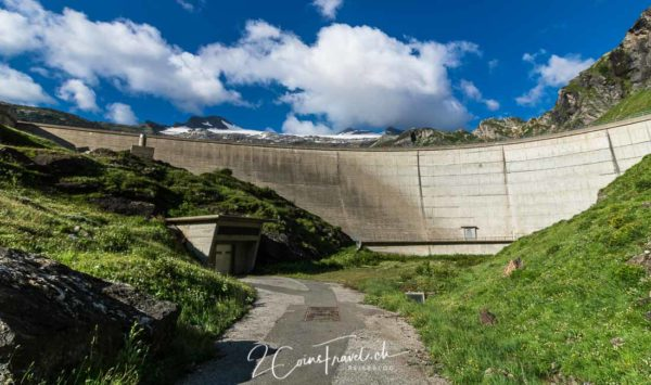 Staumauer Lago del Zött