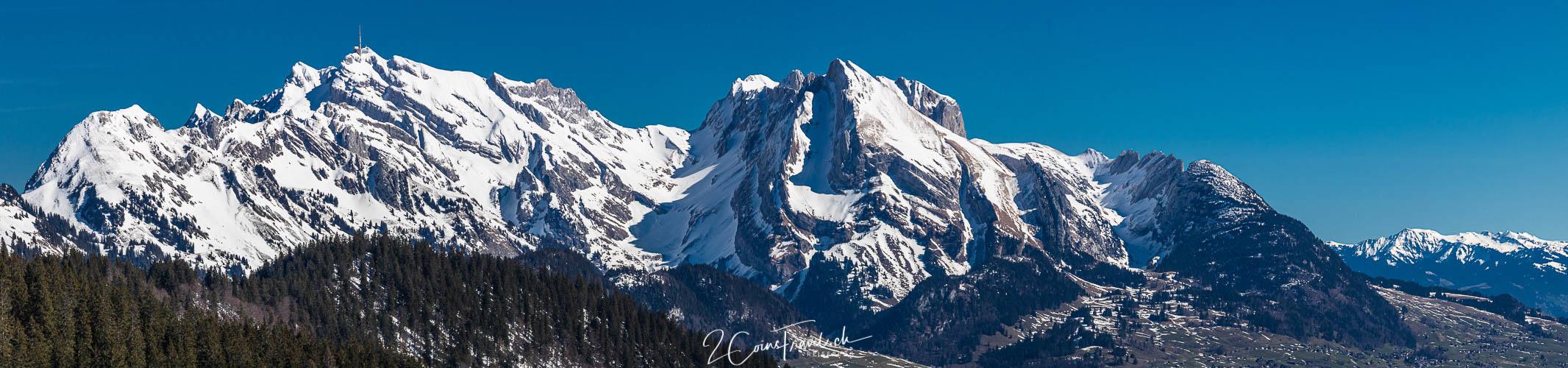 Panorama Alpstein Massiv
