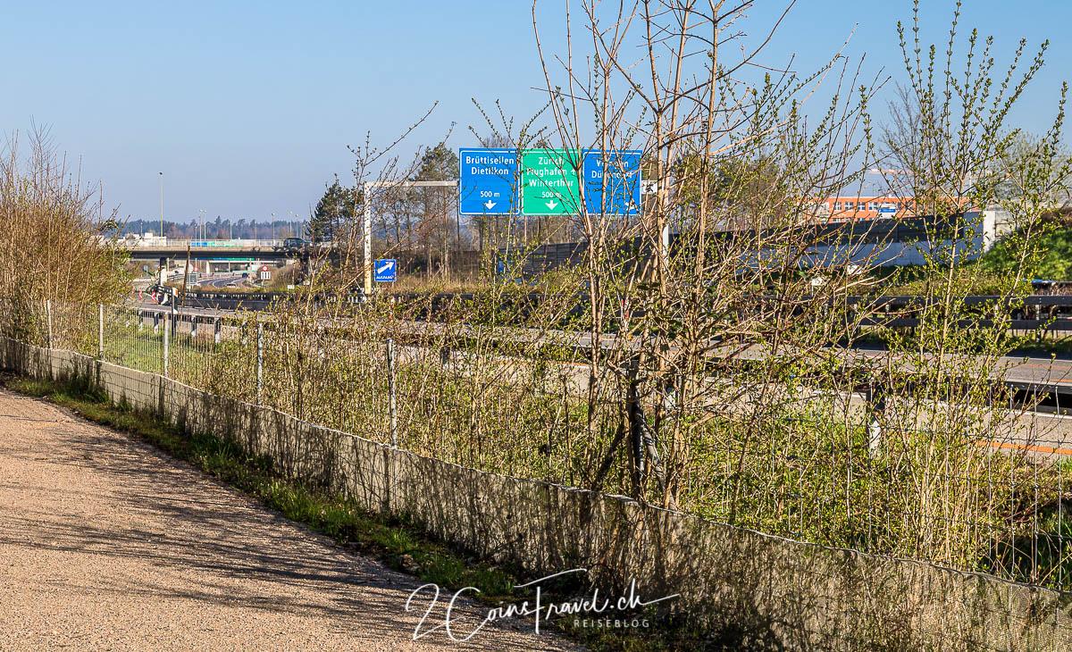 Autobahn A53 Dübendorf