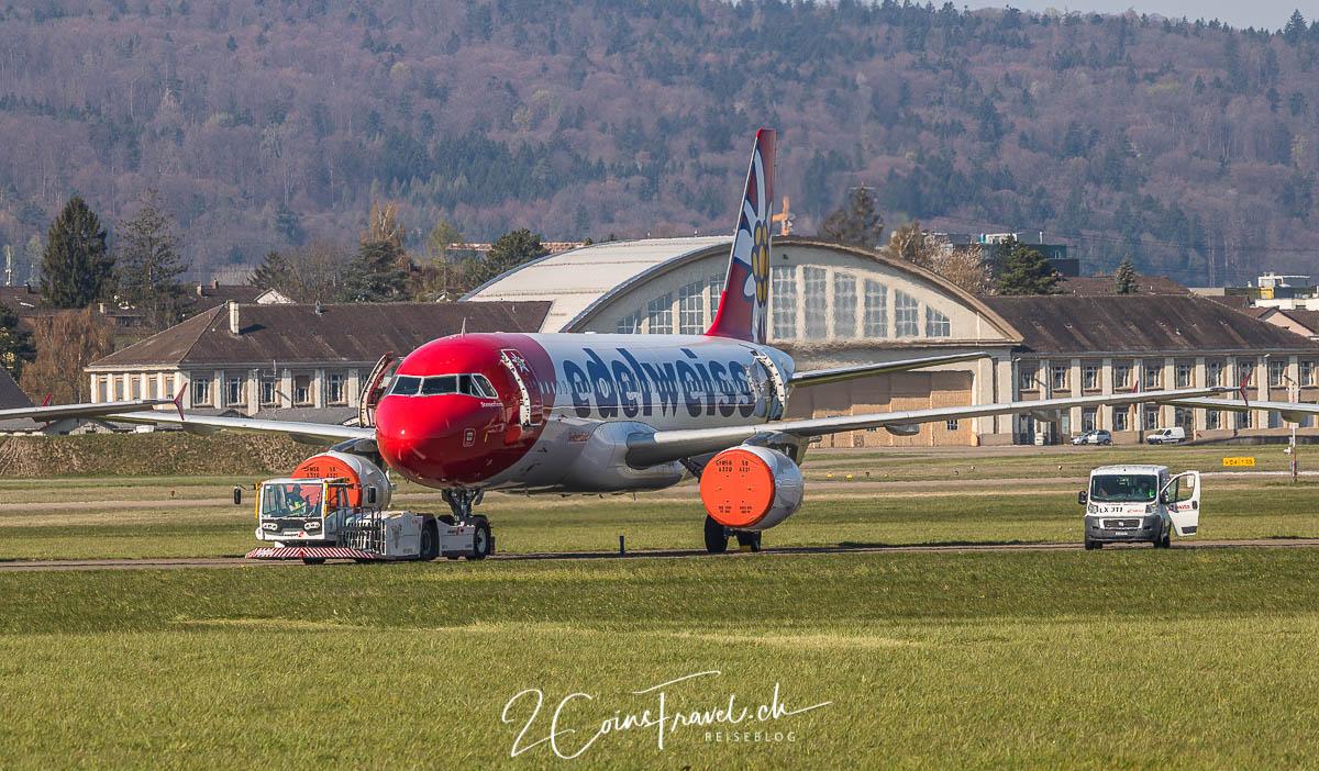 Edelweiss A320 Dübendorf