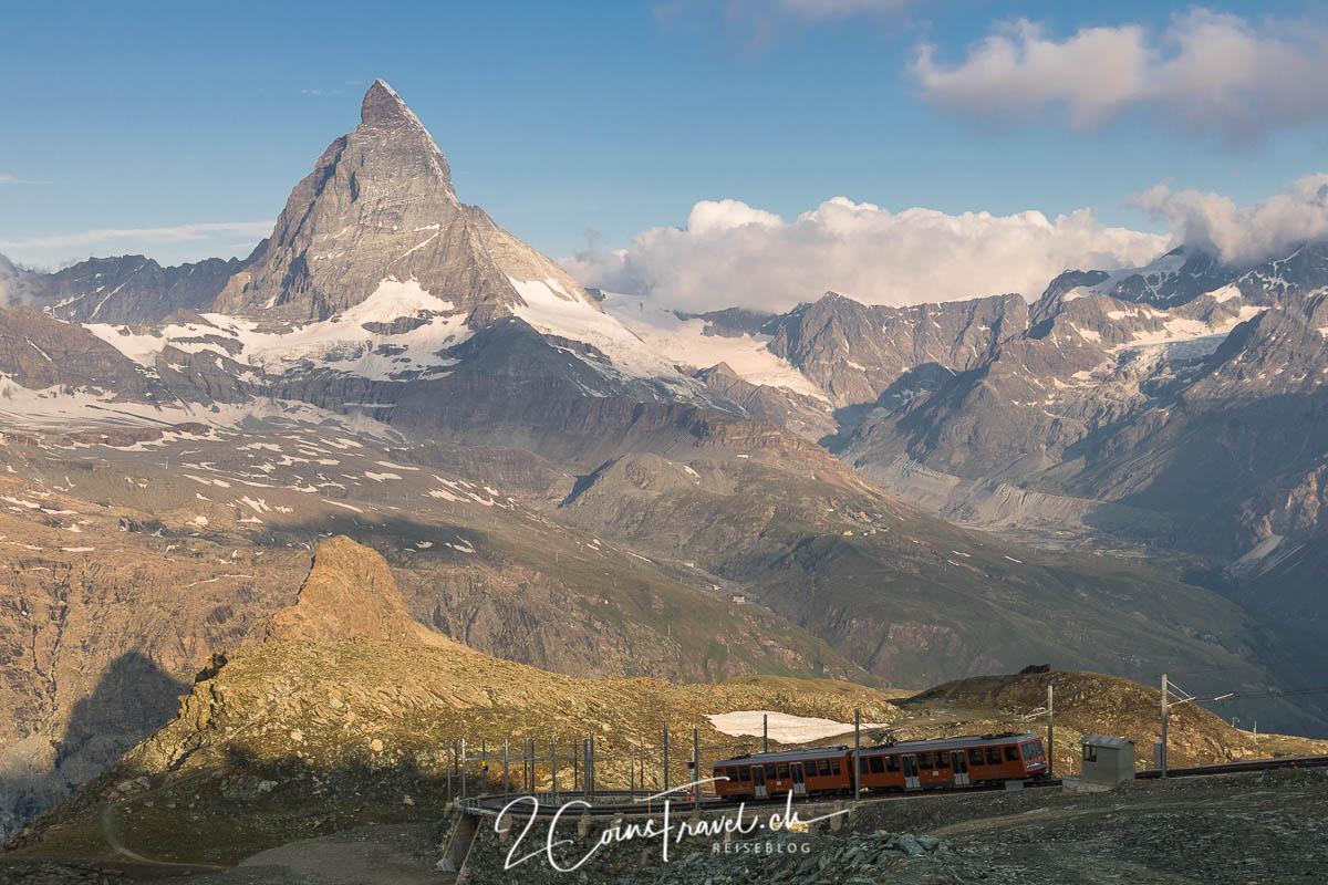 Matterhorn und Gornergratbahn