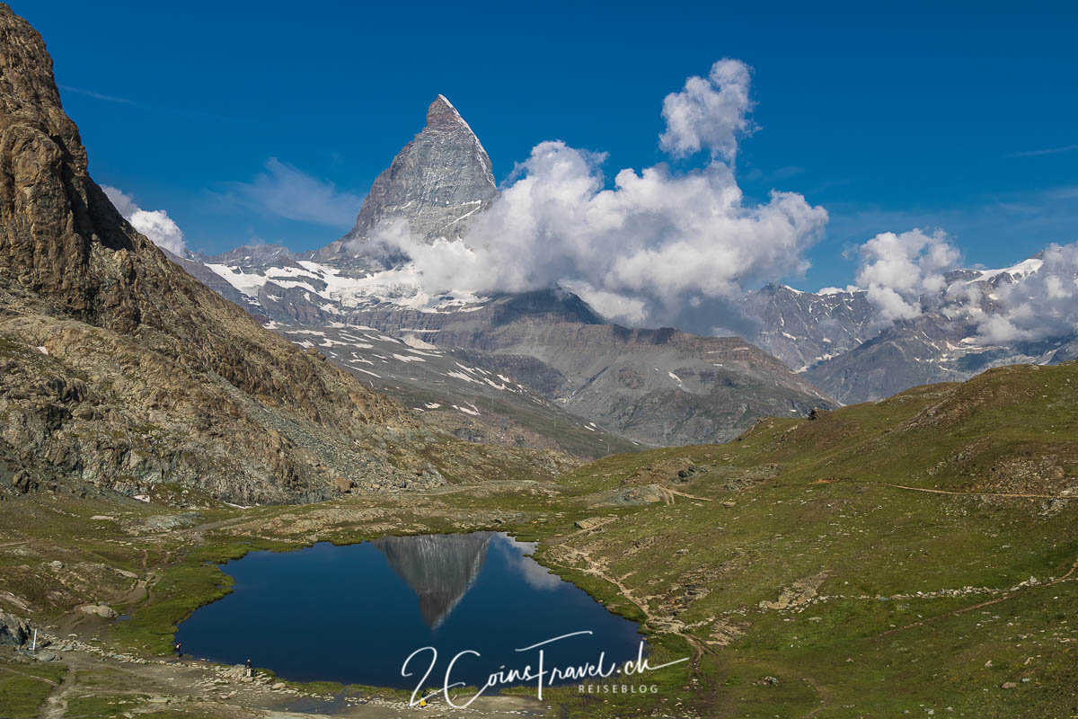 Riffelsee Matterhorn Panorama