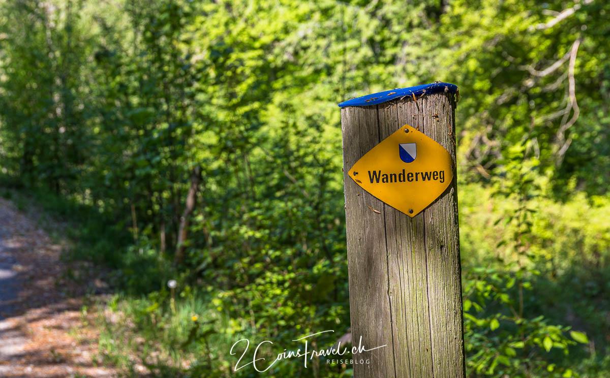 Wanderweg Kyburg