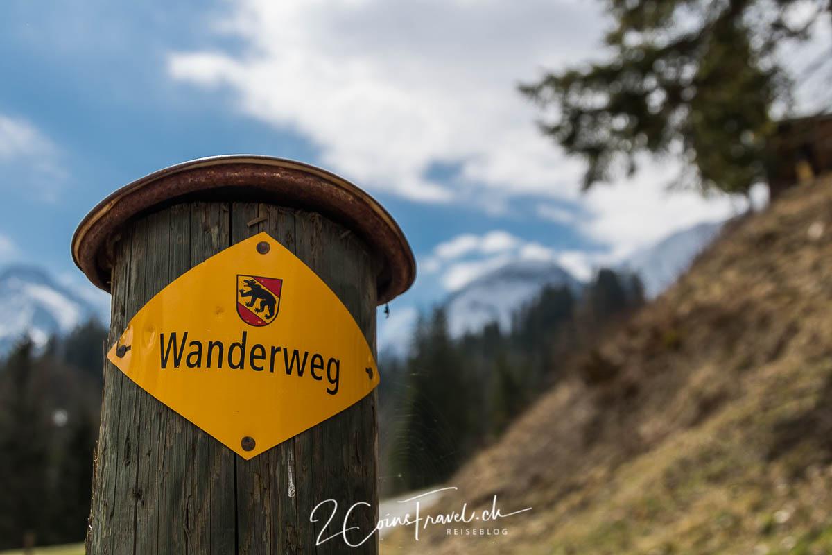 Wanderweg Lauenensee