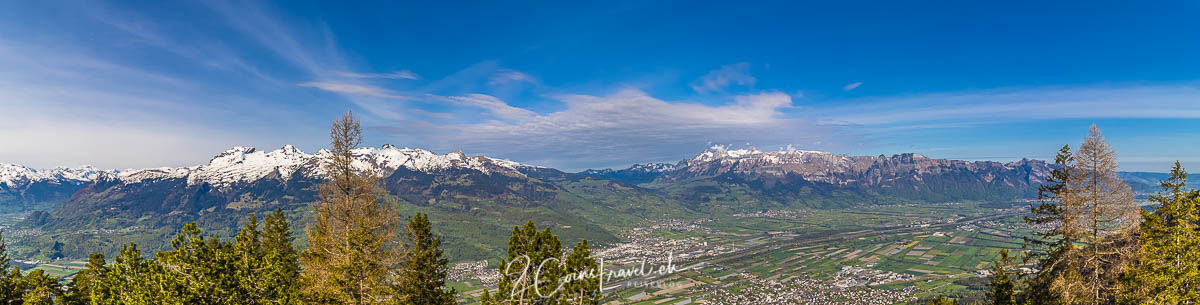 Panorama Aussichtspunkt Gaflei