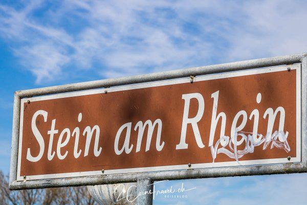Wegweiser Stein am Rhein