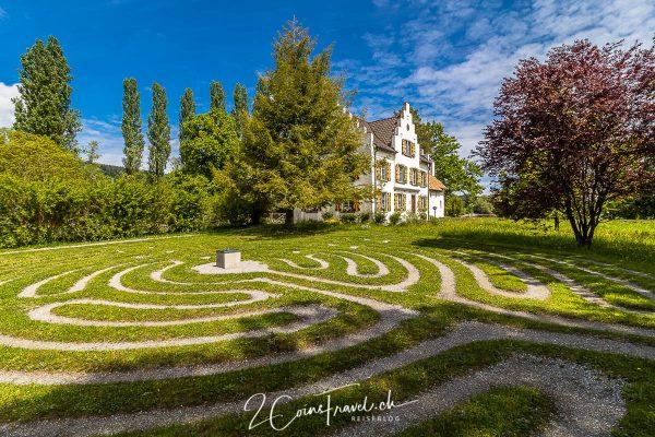 Labyrinth Insel Werd