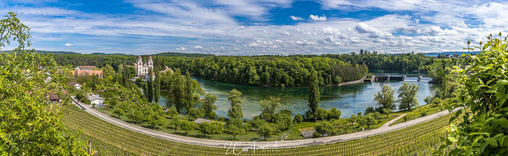Rheinau Aussichtspunkt