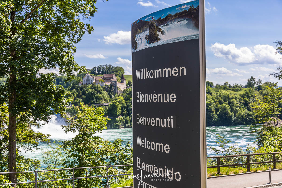 Willkommen am Rheinfall