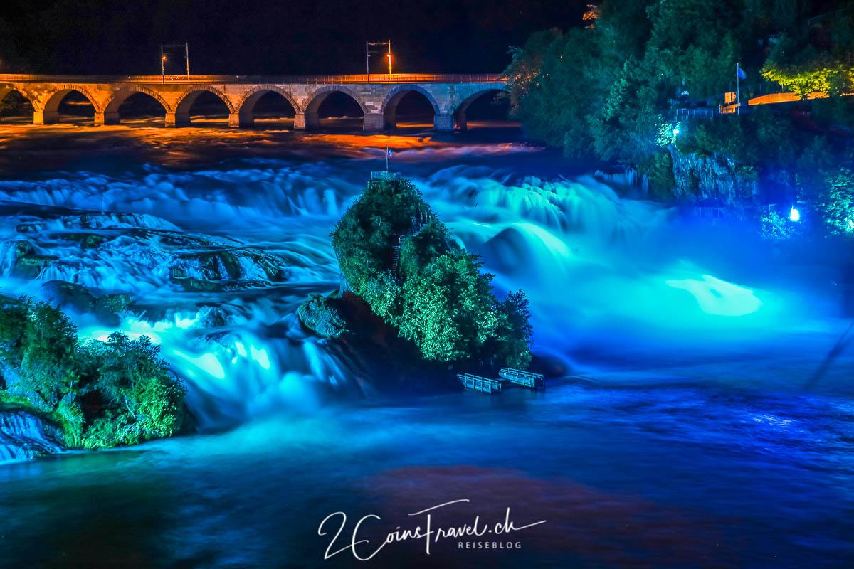 Rheinfall Beleuchtung