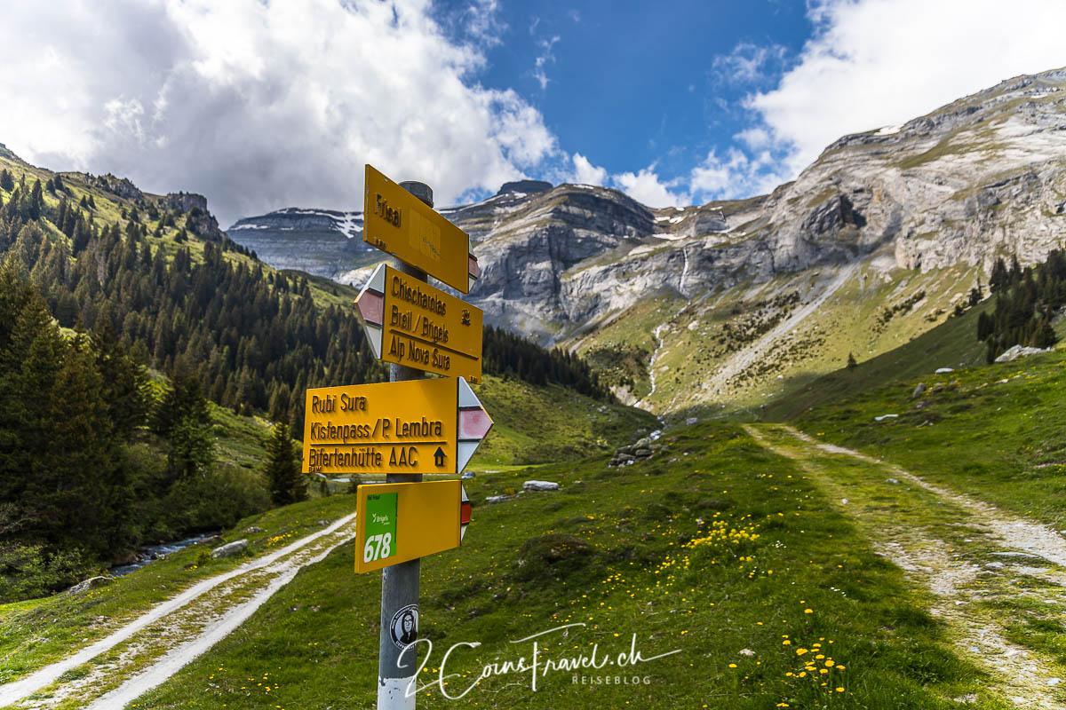 Wanderweg Frisal