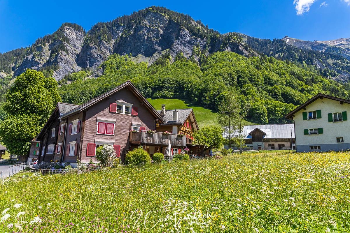 Haus in Weisstannen