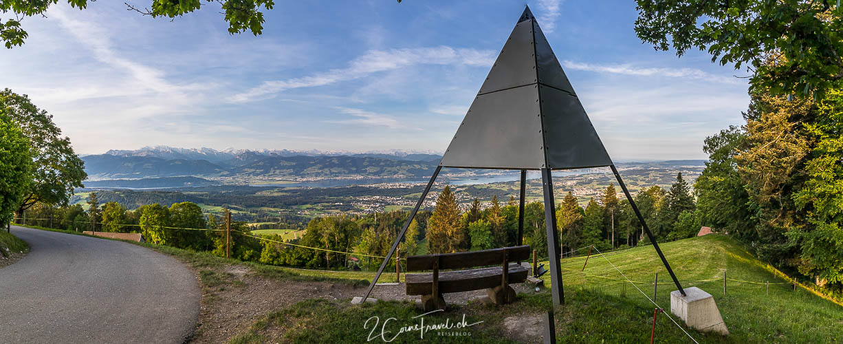 Panorama Bild Bachtel