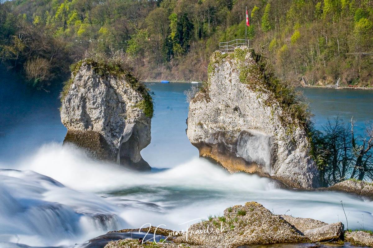 Mittelfelsen Rheinfall