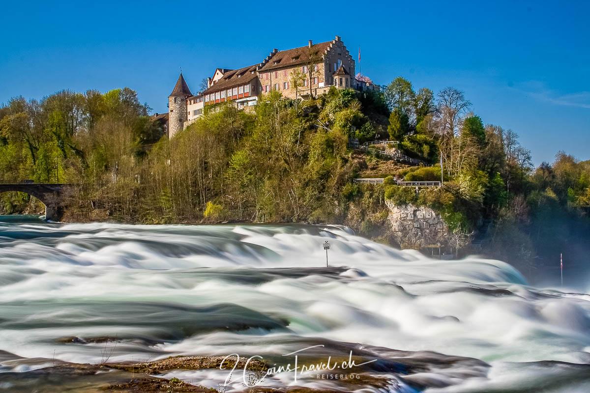 Rheinfall und Schloss Laufen