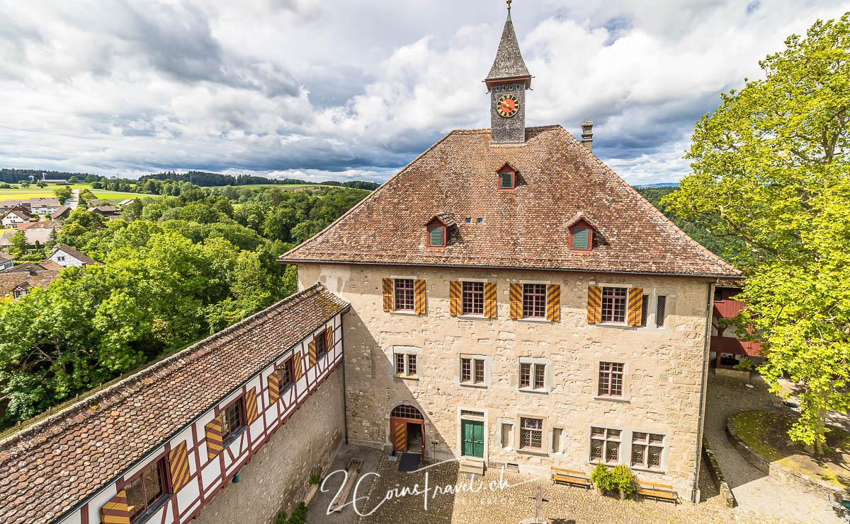 Ausblick Schloss Kyburg
