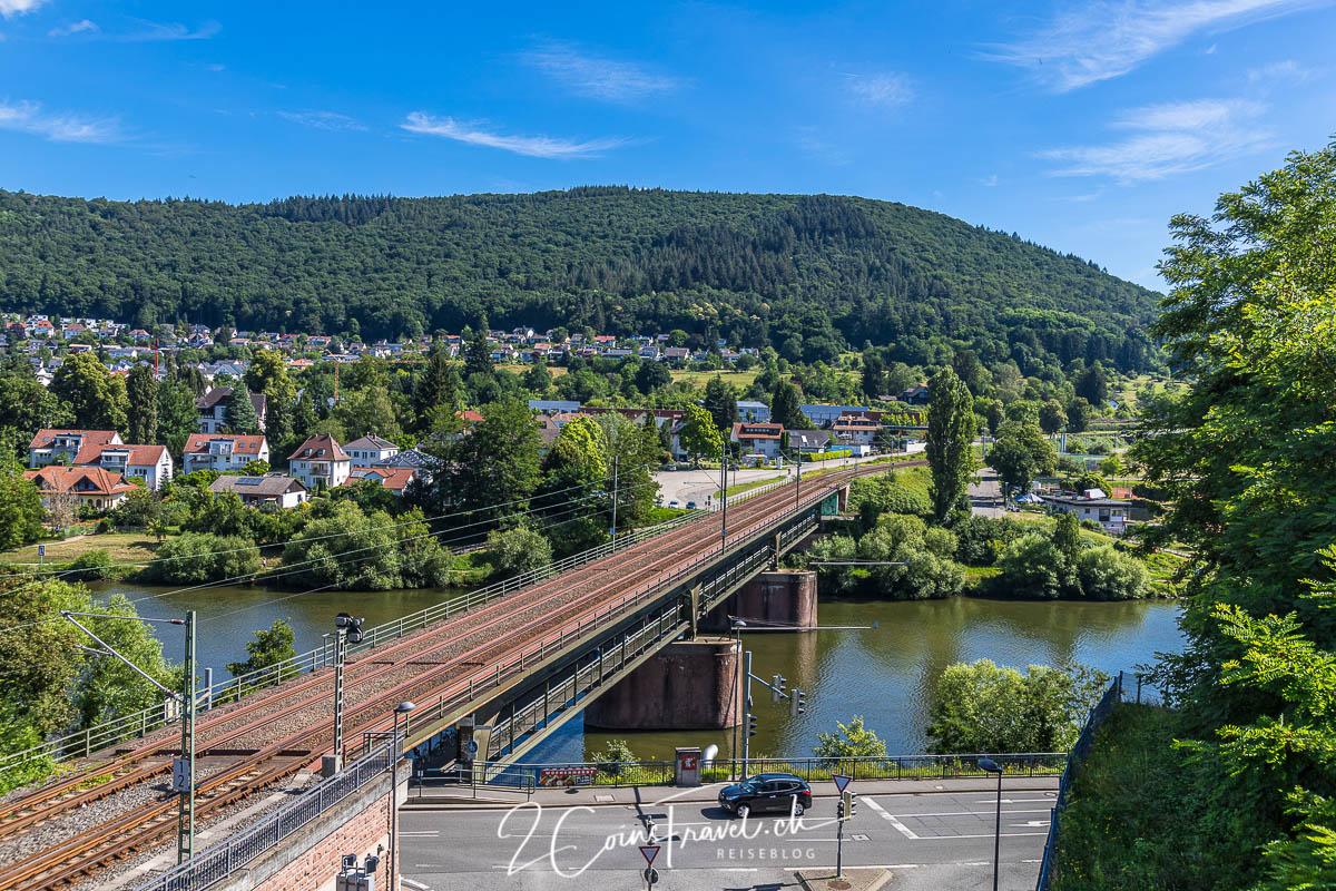 Eisenbahnbrücke Neckargemünd