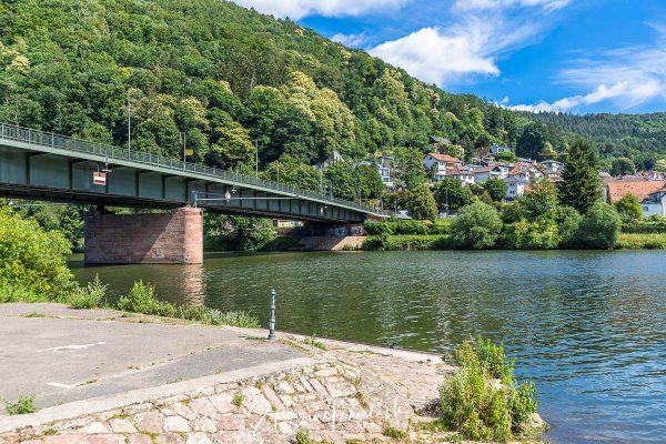 Neckar Friedensbrücke