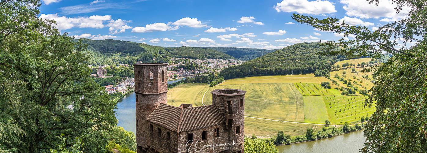 Panorama Burg Schadeck