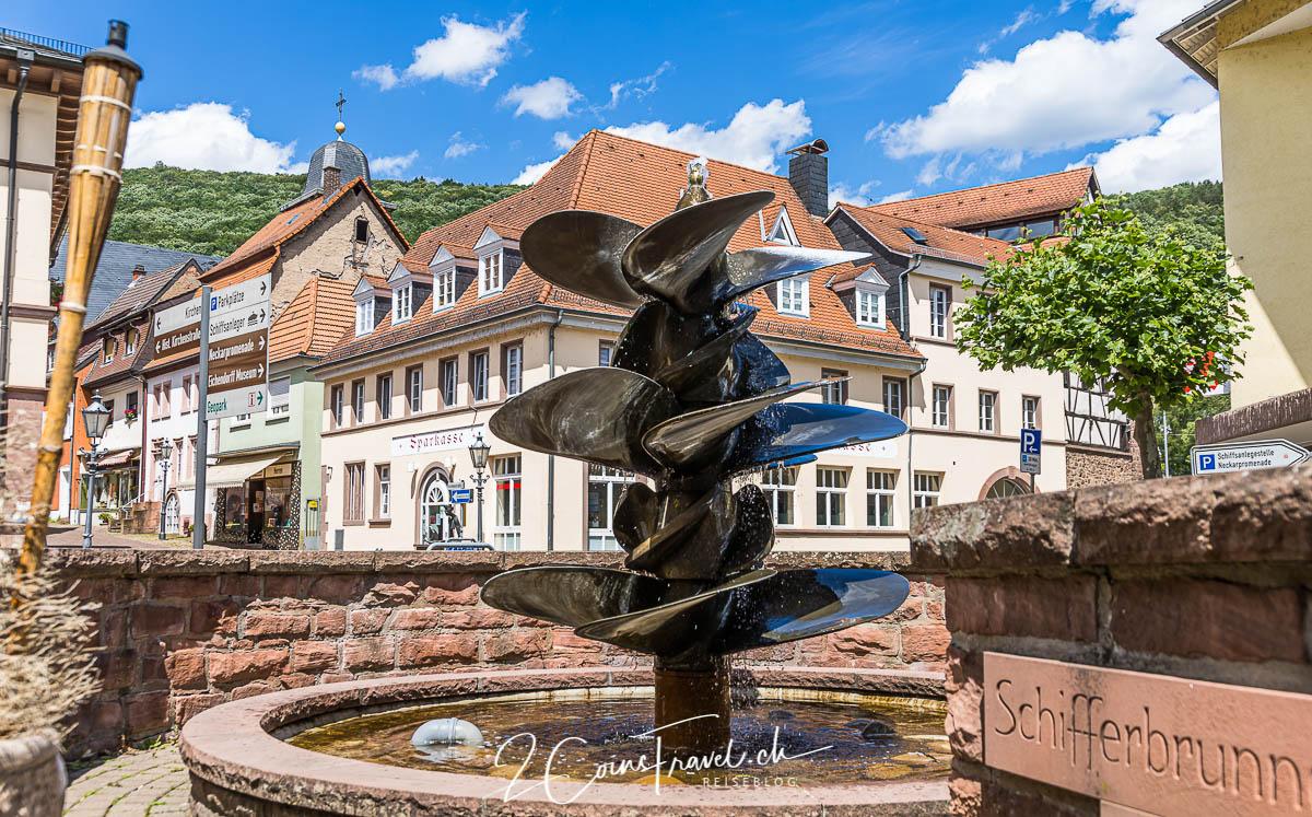 Schifferbrunnen Neckarsteinach