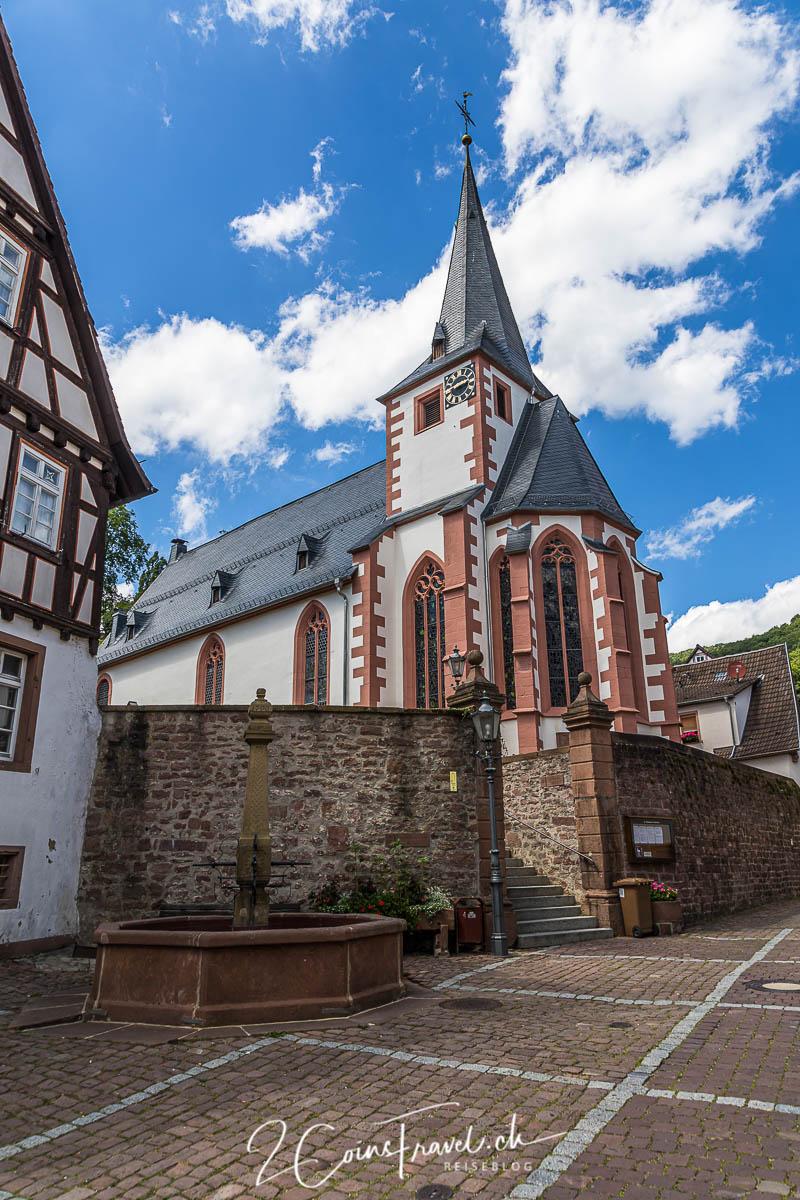 Kirchgasse Neckarsteinach