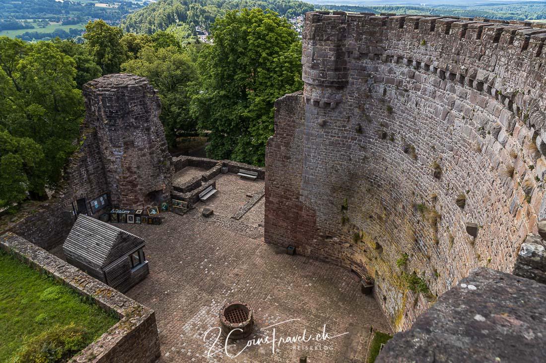 Mantelmauer Dilsberg