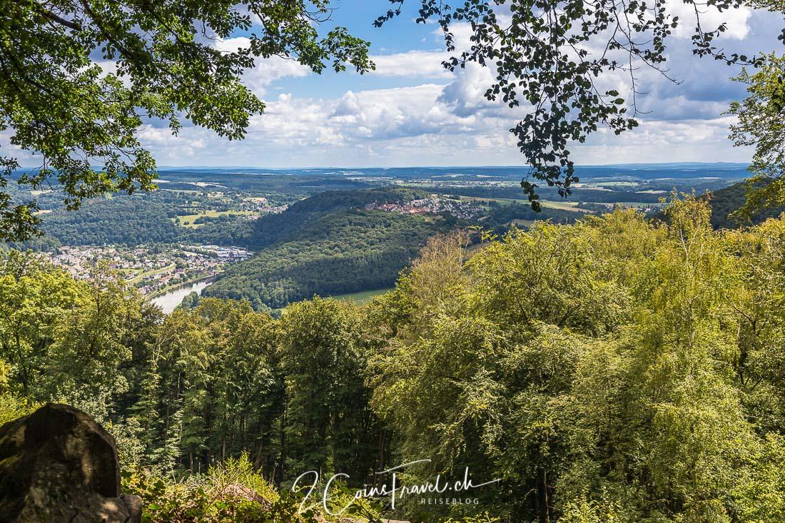 Goethe Blick Neckarsteinach