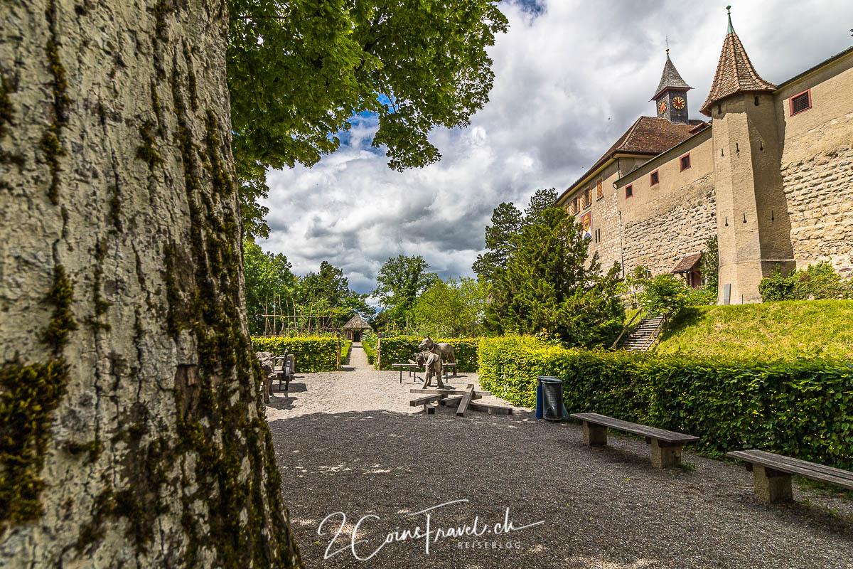 Garten Schloss Kyburg