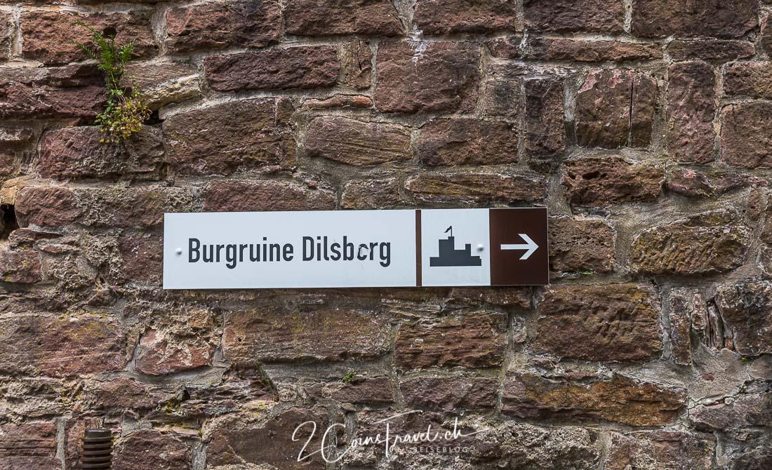 Wegweiser Dilsberg