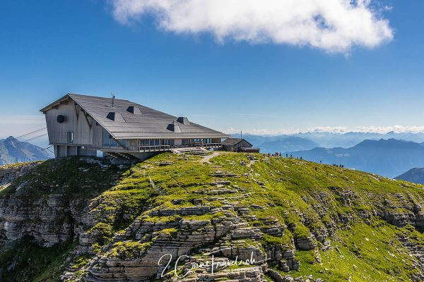 Gipfelgebäude Chäserrugg