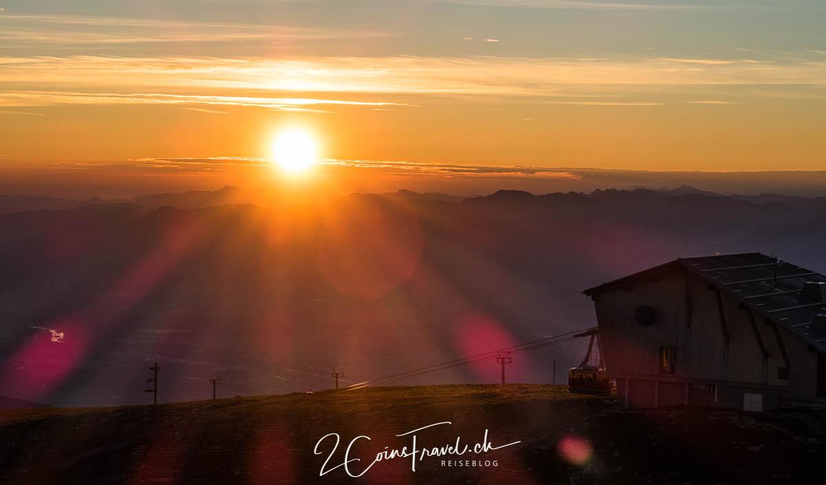 Sonnenaufgang Chäserrugg