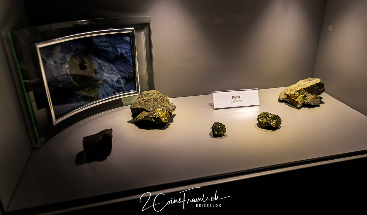 Mineralienausstellung Säntis