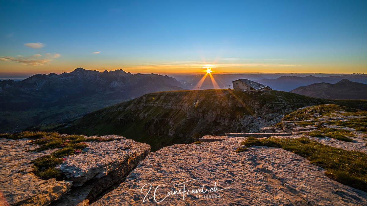 Chäserrugg Sonnenaufgang